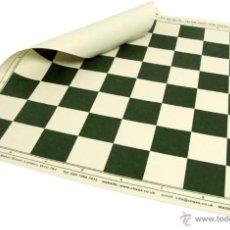 Juegos de mesa: TABLERO DE AJEDREZ ENROLLABLE. 50MM CASILLAS. Lote 183955175