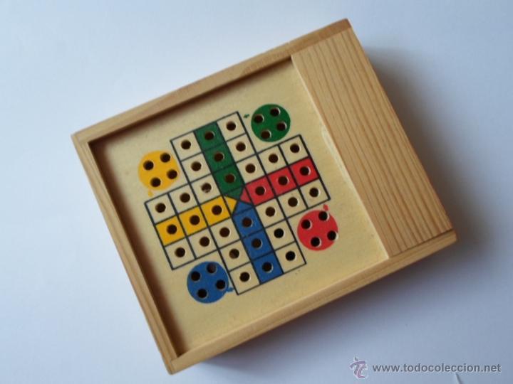 Mini Parchis Caja De Madera Comprar Juegos De Mesa Antiguos En