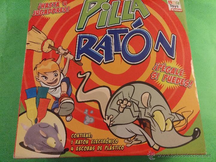 PILLA RATÓN PERSIGUELO Y CAZALO-TOYS - JUEGO (Juguetes - Juegos - Juegos de Mesa)