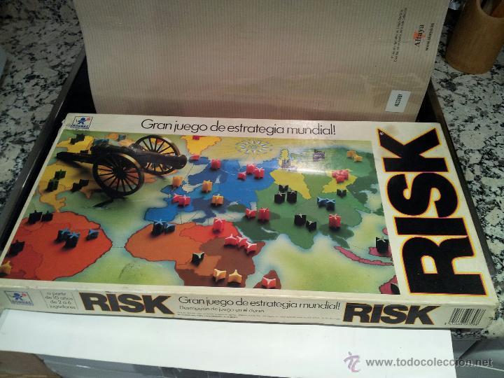 Antiguo Risk Gran Juego De Estrategia Mundial V Comprar Juegos De