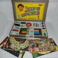 Juegos de mesa: 25 JUEGOS REUNIDOS GEYPER - BOITE DE JEUX - COMPENDIUM OF GAMES, FABRICADO EN ESPAÑA, PARECE ESTAR B. Lote 54605932