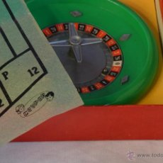 Juegos de mesa: JUEGO DE LA RULETA. JUEGOS CRONE. GEYPER. Lote 54621894