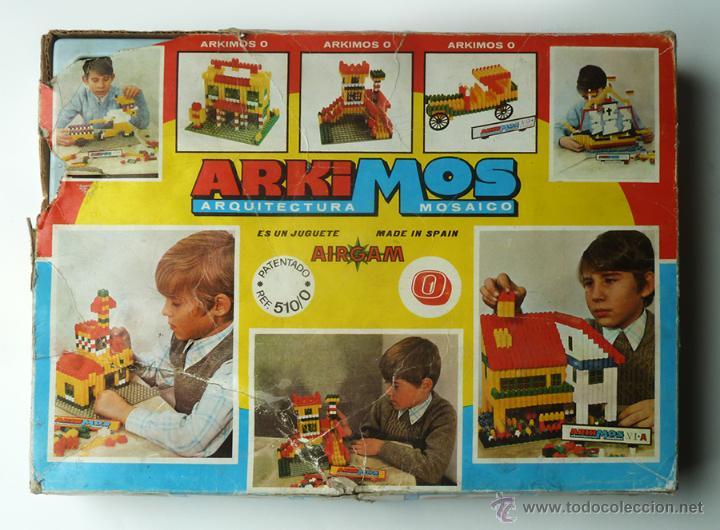 juegos de mesa juego de construccin arkimos en caja mosaico de airgam espaa ref