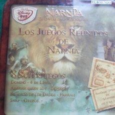 Juegos de mesa: LATA DE JUEGOS DE NARNIA 5 JUEGOS . Lote 54649315