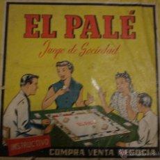Juegos de mesa: EL PALE. Lote 54696095