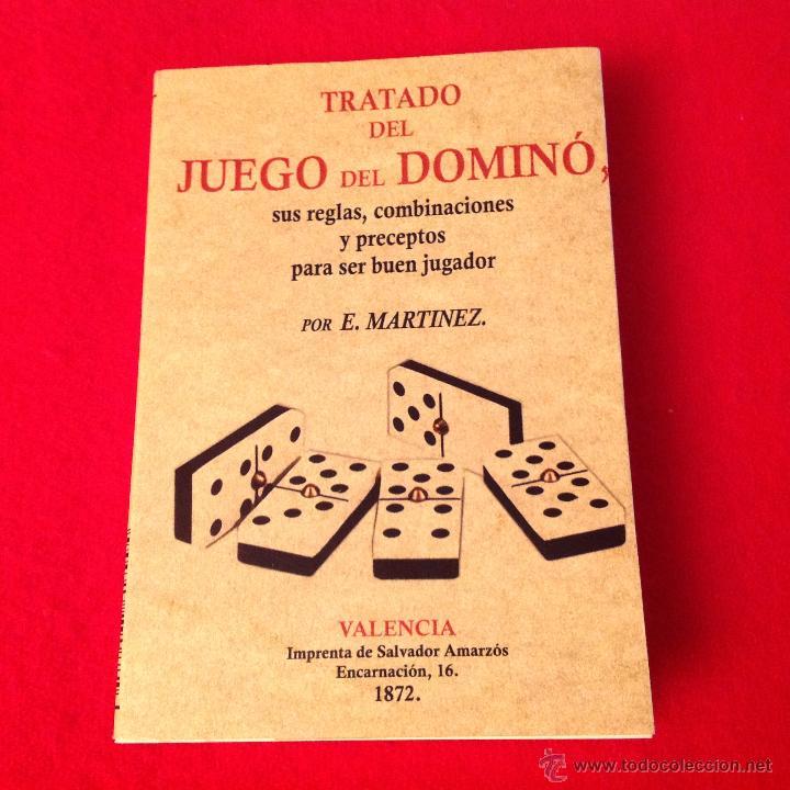 Tratado Del Juego De Domino De E Martinez Va Comprar Juegos De