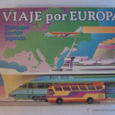 Juegos de mesa: VIAJE POR EUROPA, EDUCA 1987, DESCUBRE EUROPA JUGANDO, COMPLETO.. Lote 54789382