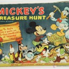 Juegos de mesa: JUEGO DE MESA. MICKEY'S(EN BUSCA DEL TESORO). WALT DISNEY. AÑOS 60-70.. Lote 52732229