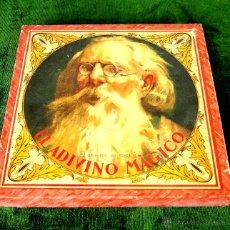 Juegos de mesa: EL MAESTRO EN CASA O EL ADIVINO MÁGICO. JUEGO DE MESA. ESPAÑA. CIRCA 1940.. Lote 49338516
