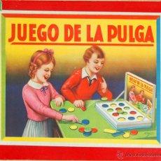 Juegos de mesa: JUEGO DE LA PULGA. JUEGO DE MESA. ESPAÑA. CIRCA 1930.. Lote 49325927
