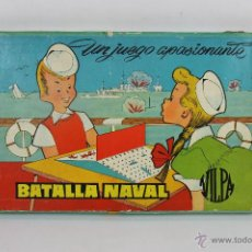 Juegos de mesa: JUEGO DE MESA BATALLA NAVAL. VILPA. AÑOS 60.. Lote 46149634