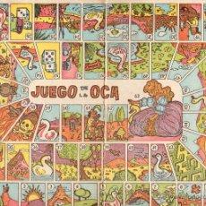 Juegos de mesa: . JUEGO TABLERO JUEGO DE LA OCA. Lote 195252852