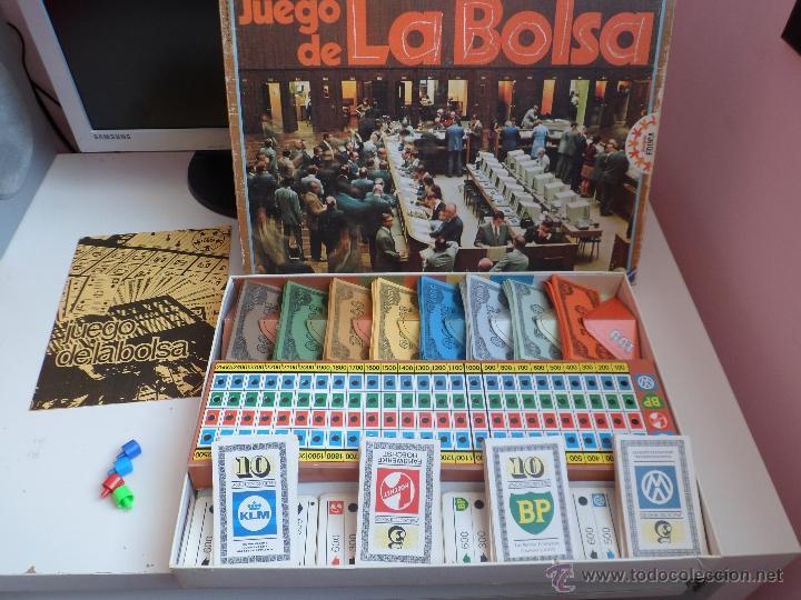 Antiguo Juego De Mesa La Bolsa Educa Anos 70 80 Comprar Juegos De