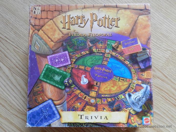 Trivial Harry Potter Y La Piedra Filosofal Mate Comprar Juegos De