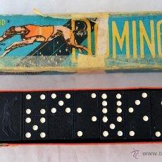 Juegos de mesa: DOMINO COMPLETO INGLES * GREYHOUND BRAND *. Lote 54918347