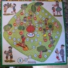 Juegos de mesa: JUEGO GALLINITA CIEGA ANTIGUO TABLERO DE JUEGOS REUNIDOS COROMINAS . Lote 54957443