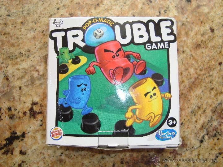 Juego De Mesa Trouble Game De Hasbro Gaming Comprar Juegos De