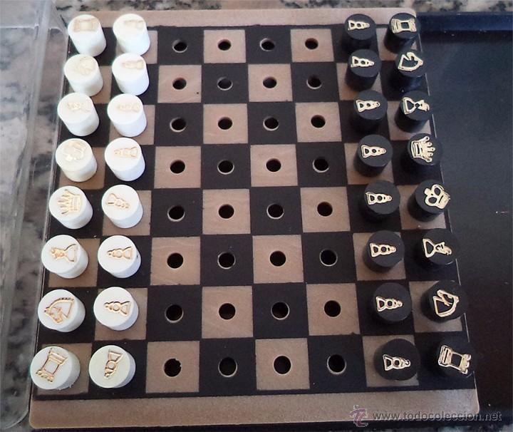 AJEDREZ DE VIAJE TABLERO DE 10/10 CM (Juguetes - Juegos - Juegos de Mesa)
