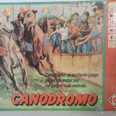 Juegos de mesa: ANTIGUO JUEGO DE MESA - CANODROMO DE MATTEL 1989 - SIN USO. Lote 55041257