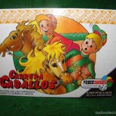 Juegos de mesa: JUEGO DE MESA CARRERA DE CABALLOS DE FEBER. Lote 55128971