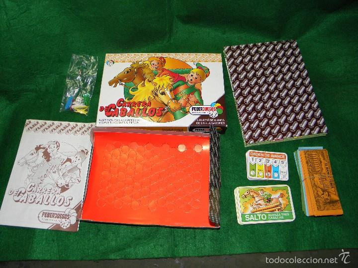 Juegos de mesa: JUEGO DE MESA CARRERA DE CABALLOS DE FEBER - Foto 2 - 55128971