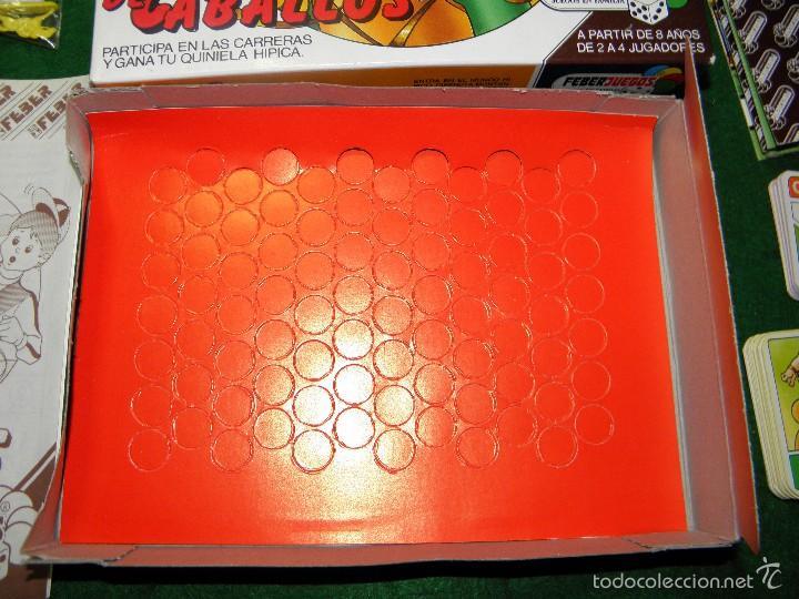 Juegos de mesa: JUEGO DE MESA CARRERA DE CABALLOS DE FEBER - Foto 4 - 55128971