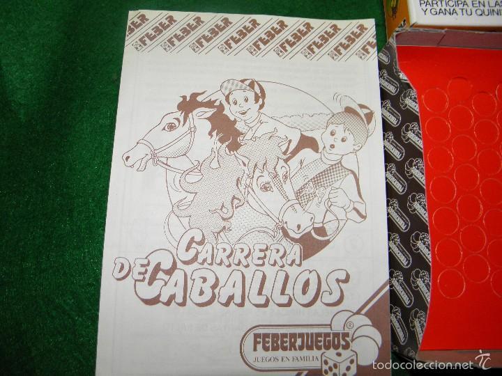 Juegos de mesa: JUEGO DE MESA CARRERA DE CABALLOS DE FEBER - Foto 5 - 55128971