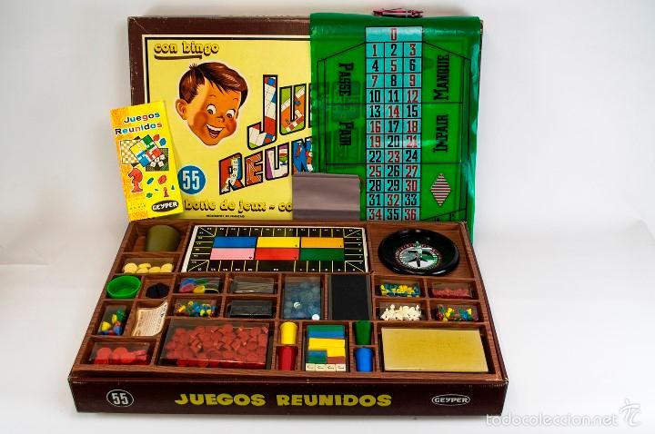 Juegos Reunidos Geyper 55 Con Bingo Boite De Je Comprar Juegos De