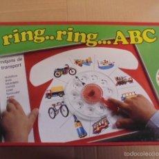 Juegos de mesa: JUEGO INFANTIL EDUCA - 1 A 4 AÑOS / PRECINTADO !!! - AÑOS 70 / 80 - EN CATALÀ - RING ABC TELEFONO. Lote 55326071