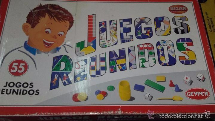 Juegos Reunidos Geyper 55 Bizak Comprar Juegos De Mesa Antiguos En