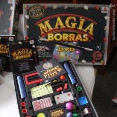 Juegos de mesa: JUEGO MAGIA BORRAS CON INSTRUCCIONES Y CD. Lote 55352446