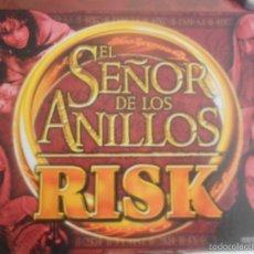 Juegos de mesa: JUEGO DE ROL RISK EL SEÑOR DE LOS ANILLOS COMPLETO VERSION ESPAÑOLA DE PARKER. Lote 55375380