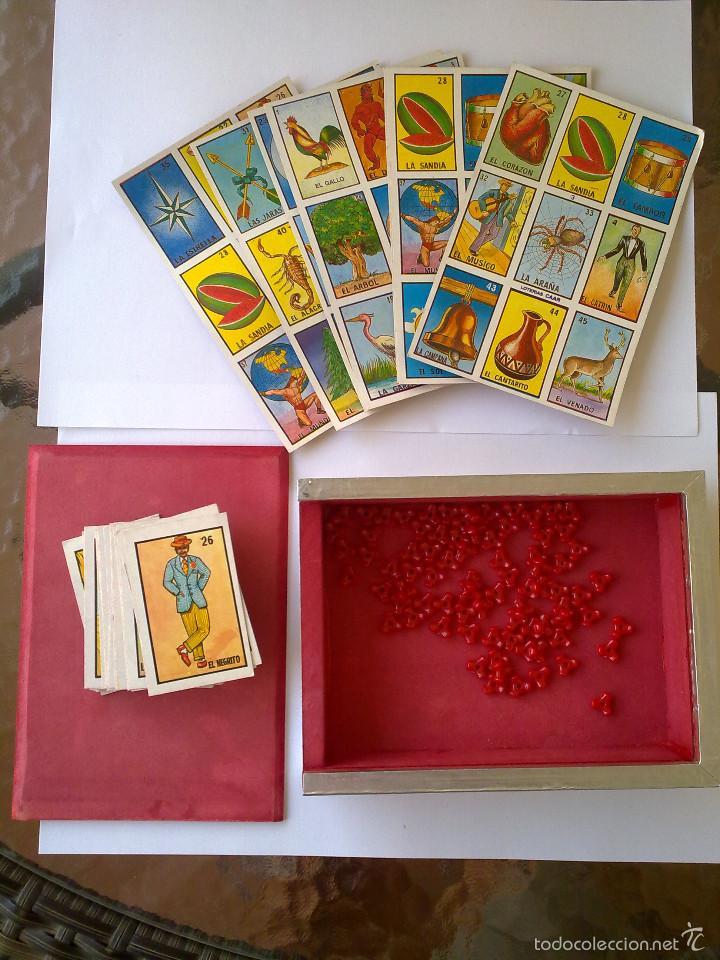 Raro Juego De Loteria La Dama Hecho En Mexico Comprar Juegos De