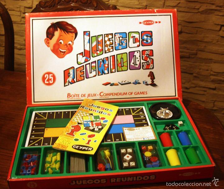 Juegos Reunidos Geyper Caja De 25 Juegos Como Comprar Juegos De