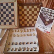 Juegos de mesa: AJEDREZ REAL MADRID. Lote 55702564