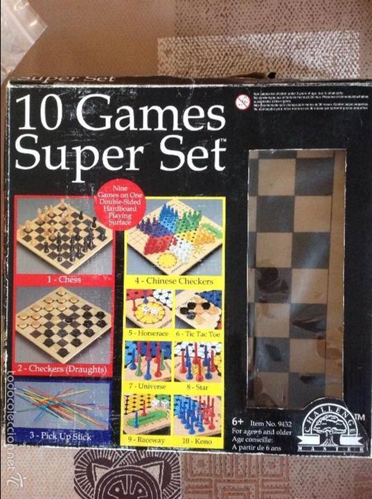 10 Games Super Set Juegos De Mesa Challenge Comprar Juegos De