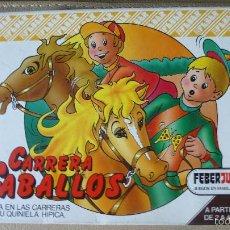 Juegos de mesa: JUEGO CARRERA DE CABALLOS FEBERJUEGOS A ESTRENAR. Lote 55805251