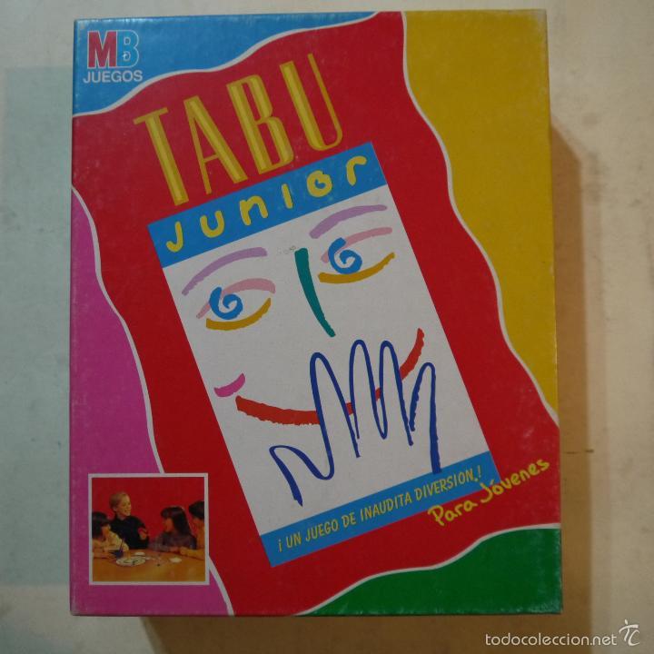 Tabu Junior Mb Juegos 1993 Juego Completo Comprar Juegos De