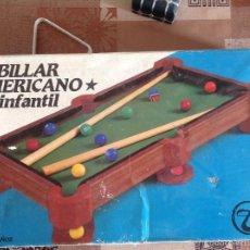 Juegos de mesa: BILLAR AMERICANO INFANTIL TOIMSA. Lote 55821968