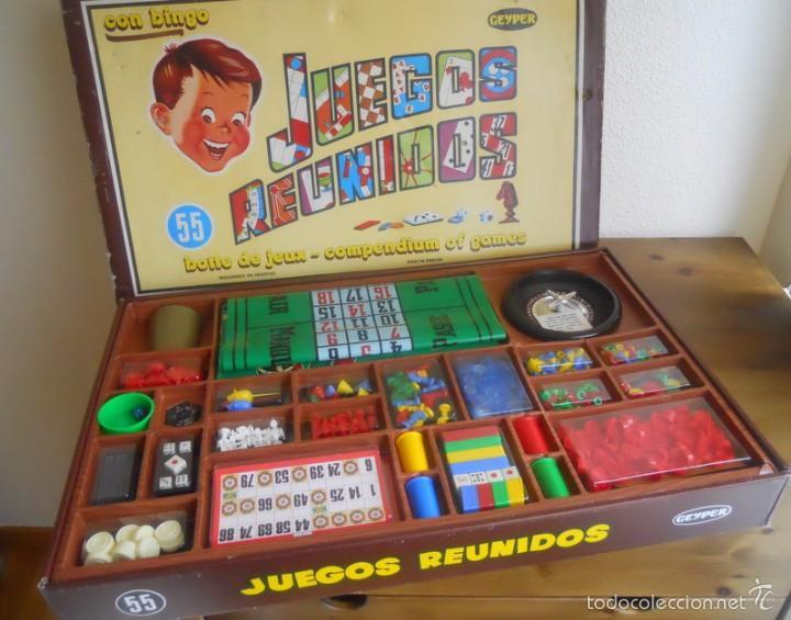 Caja Juegos Reunidos Geyper 55 Completa Muy B Comprar Juegos De