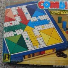 Juegos de mesa: PARCHÍS Y DAMAS MAGNÉTICOS - RIMA. Lote 55869238