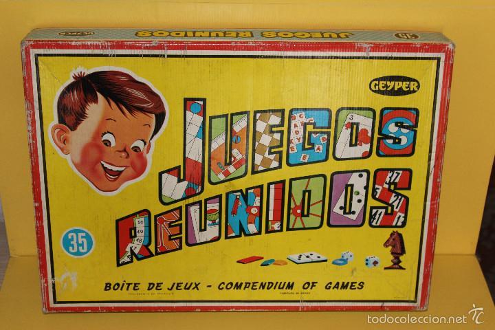 Juegos Reunidos Geyper Nº 35 Anos 70 Comprar Juegos De Mesa