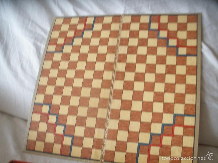 Juegos de mesa: ANTIGUO JUEGO HALMA.BAVIERA,ALEMANIA. - Foto 4 - 56043087