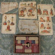 Juegos de mesa: CAJA JUEGO CONSTRUCCIÓN ARQUITECTURA. MARCA ANCLA. ANKER F.AD. RITCHTER. CIRCA 1900. Lote 56149038