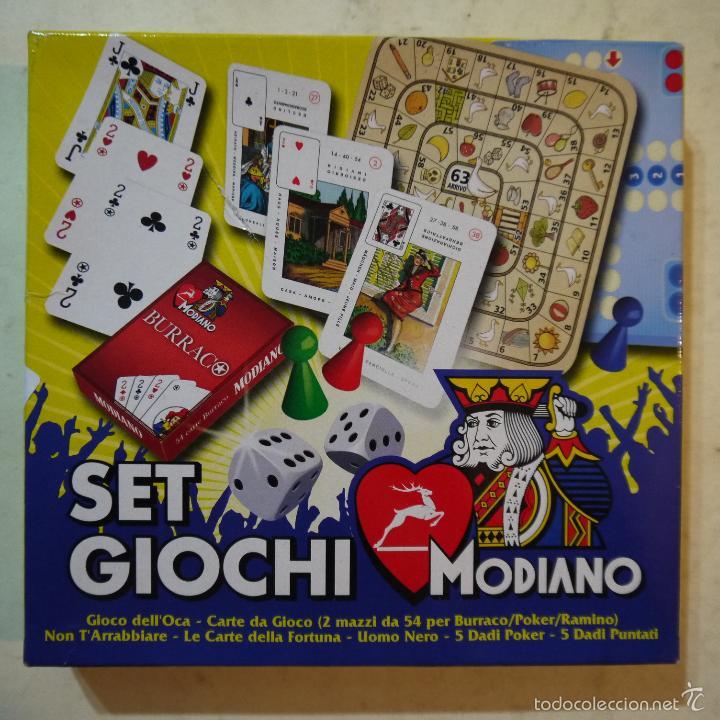 Set Giochi Modiano Juegos De Cartas Ocas Pa Comprar Juegos De