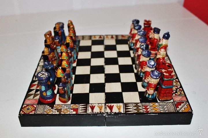 Ajedrez artesanal de ceramica comprar juegos de mesa - Juego para hacer ceramica ...