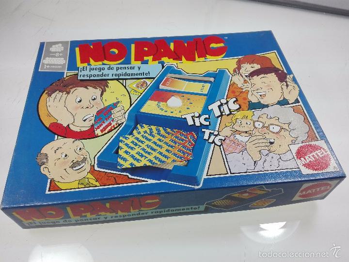 Entretenido Juego No Panic El Juego De Pensar Comprar Juegos De
