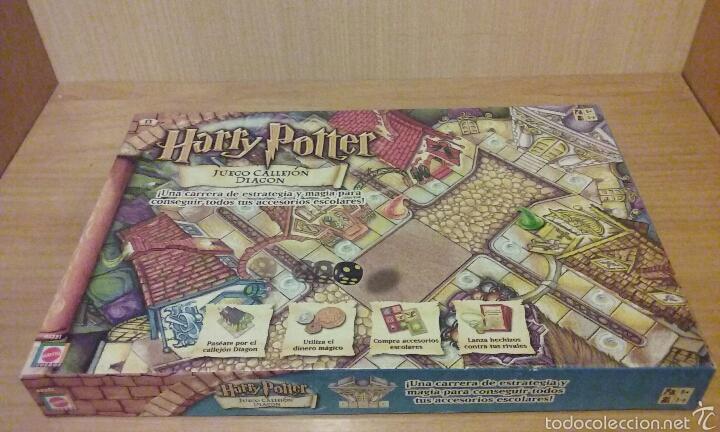 Harry Potter Juego Callejon Diagon Completo M Comprar Juegos De