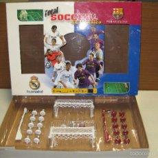 Juegos de mesa: SOCCER -EL CLASICO- R.MADRID FC BARCELONA. Lote 56375437