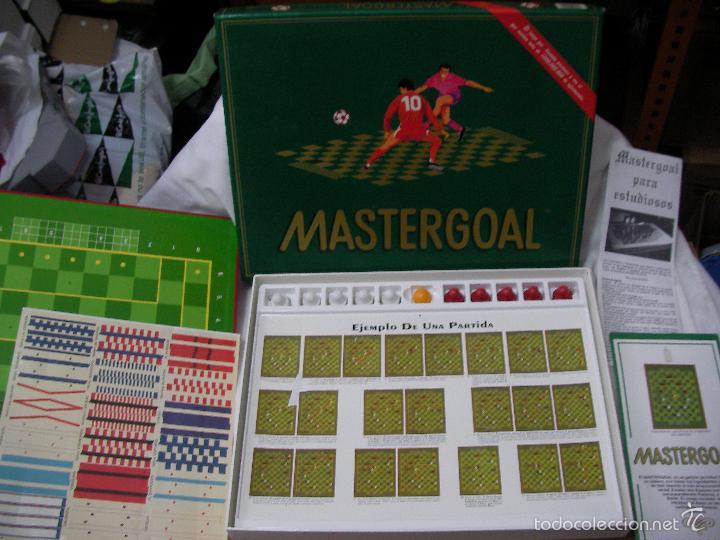 Juegos de mesa: ANTIGUO JUEGO MASTERGOAL EN BUEN ESTADO - Foto 2 - 56388131